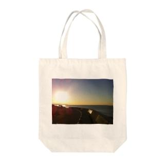 鎌倉の朝002 Tote bags