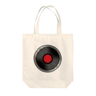 TurnTable Tote bags