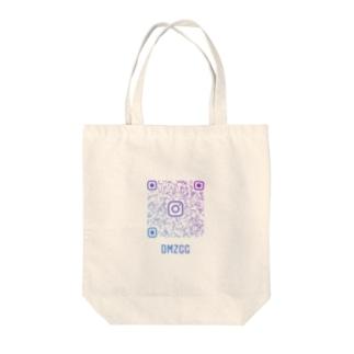 インスタコード Tote bags