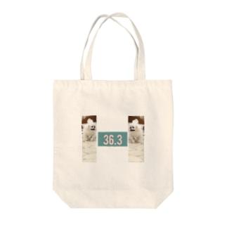 36.3 ペキニーズ Tote bags