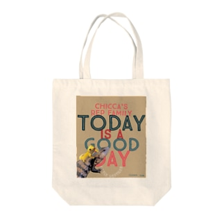 Today is a good day カカオ&シトラス Tote bags
