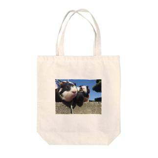 いけてる Tote bags