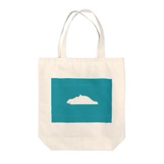 たかどのみこと🕊のしろくまさんとうさぎさん Tote bags