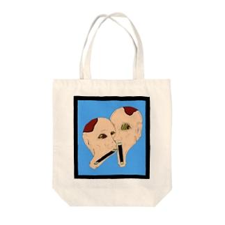 ピーナッツランド名物双子 Tote bags