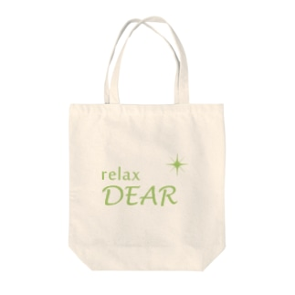 relaxDEAR Tote bags