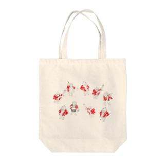 ポリエチ連トート Tote bags