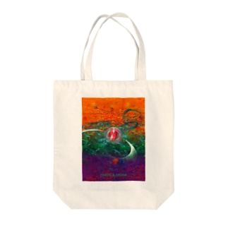 CHAOS & ORDER Tote bags