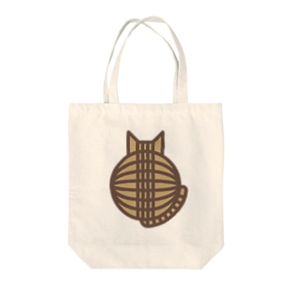 猫の丸い背中(キジトラ) トートバッグ トートバッグ
