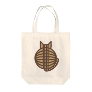 猫の丸い背中(キジトラ) トートバッグ Tote bags