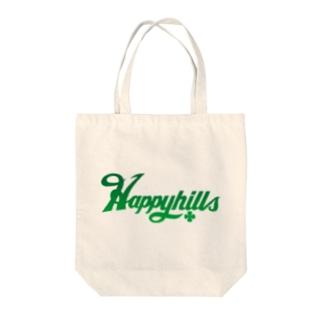 Happyhillsふくおか(緑) Tote bags
