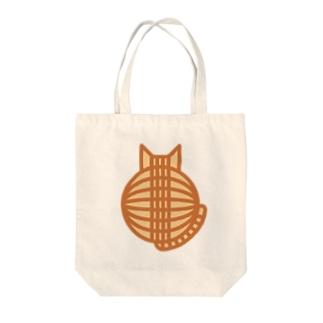 猫の丸い背中(チャトラ) トートバッグ Tote bags