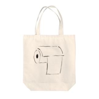 トイレさん(シンプルver) Tote bags