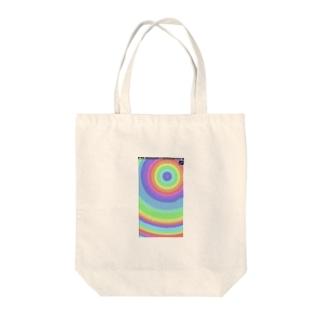 虹色 Tote bags