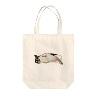 ひなちゃん Tote bags