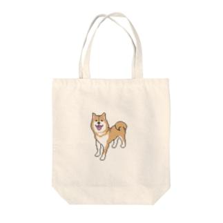 柴犬DOT Tote bags