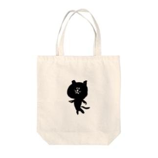 筆猫-fudeneko- Tote bags
