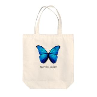 モルフォ蝶 Tote bags