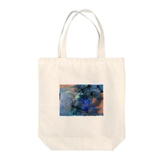 マリンブルーの詩 Tote bags