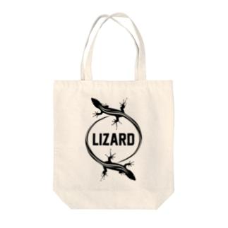 LIZARD-トカゲ- Tote bags