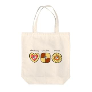 クッキー/モンスター Tote bags