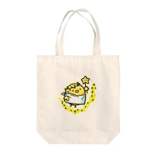 天使のひよこちゃん Tote bags