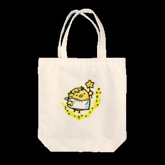ひよこの小屋の天使のひよこちゃん Tote bags