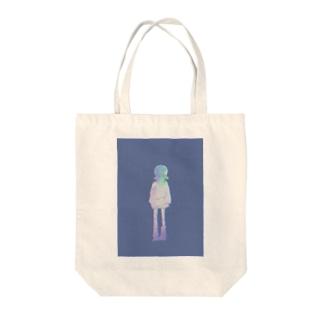 マスクガール Tote bags