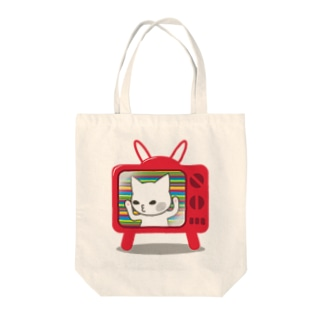 2次元から出られない猫 Tote bags