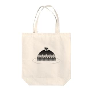 タルト(BK) Tote bags