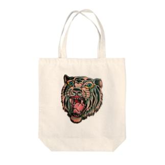 虎。 Tote bags