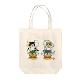 金剛猫士像 Tote bags