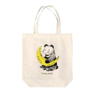 月クマ Tote bags