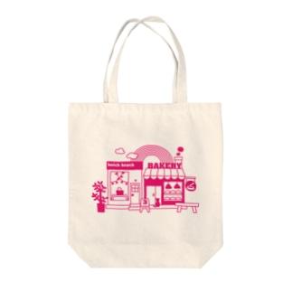 雑貨屋&パン屋 Tote bags