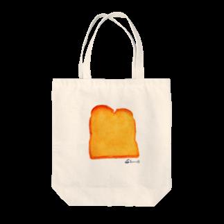 3pondSのトースト トートバッグ