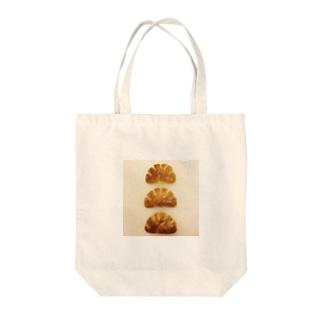 クリム三兄弟(無地) Tote bags