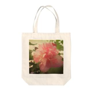 芙蓉の花トートバッグ Tote bags