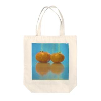 柿の実トートバッグ Tote bags