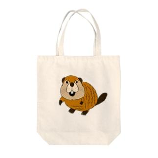 かわいいビーバートートバッグ Tote Bag