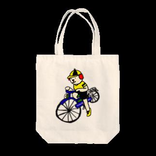 とんちピクルスのウクちゃんと自転車 Tote bags