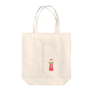 ガムボールマシン* Tote bags
