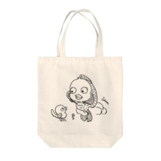 さかなちゃん Tote bags
