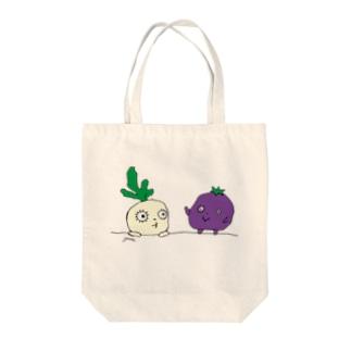 野菜の子 Tote bags