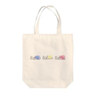シグナルスニーカー Tote bags