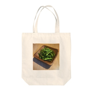 枝豆タイム Tote bags