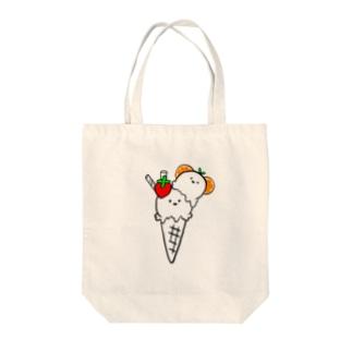 milk♡ice Tote bags