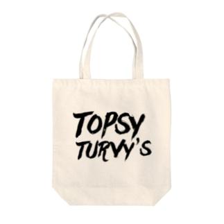 Topsy Turvy'sロゴ トートバッグ