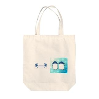 ふたごのフェアリーペンギン(キラキラロゴつき) Tote Bag