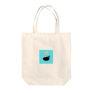 目玉焼きトート Tote bags