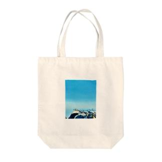 3rd item 〜sky〜 Tote bags