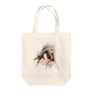 ヤノベケンジ《ザ・スター・アンガー》(星に乗るドラゴン) Tote bags